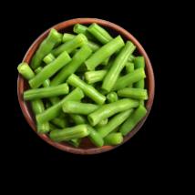 Zöldhüvelyű vágott zöldbab 2,5kg fagyasztott