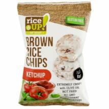 Rice Up Barna Rizs Chips Ketchup 60g