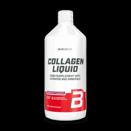 BioTechUSA Collagen Liquid 1000ml erdei gyümölcs