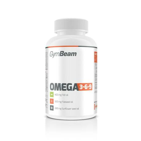 Omega 3-6-9-GymBeam- 60kapsz.