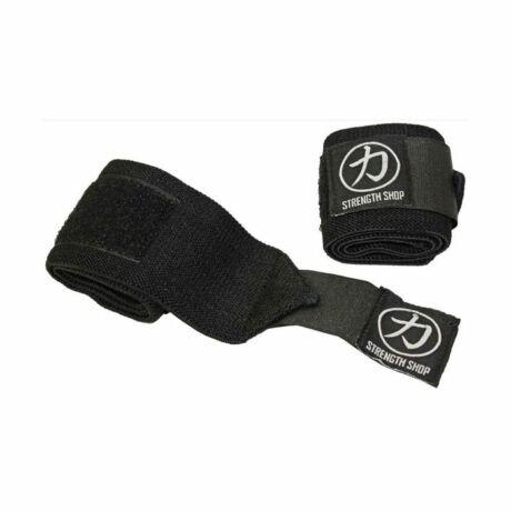 Strengthshop Black Wrist Wraps, Light - 30cm csuklóbandázs
