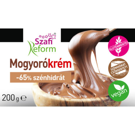 Szafi Reform Mogyorókrém 200g (Gluténmentes)