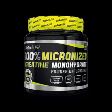 BioTechUSA 100% Micronized Creatine Monohydrate 500g