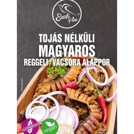 Szafi FREE Tojás nélküli MAGYAROS reggeli/vacsora alappor 300g