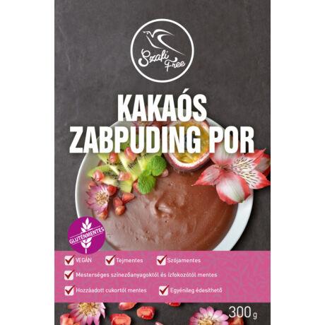 Szafi Free kakaós zabpuding por 300 g (gluténmentes, tejmentes, tojásmentes, kukoricamentes, szójamentes)