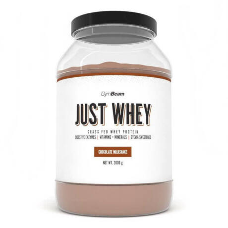 GymBeam Just Whey fehérje 1000g chocolate milkshake