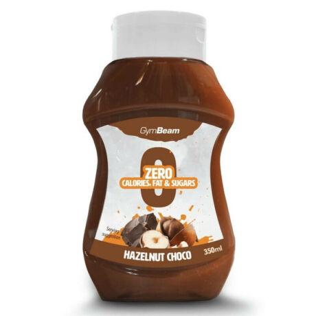 GymBeam Kalóriamentes szirup 350 ml hazelnut choco