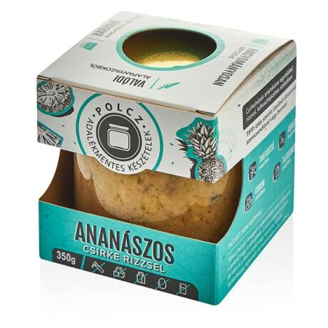 POLCZ Ananászos csirke rizzsel 350g