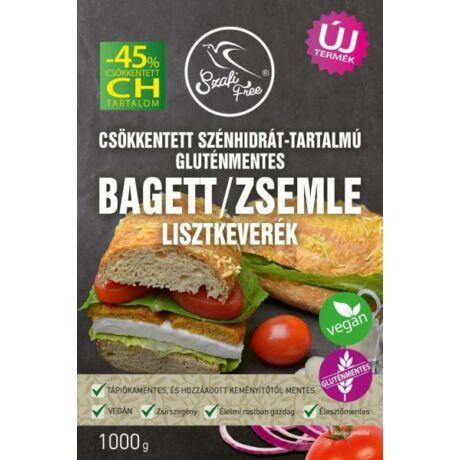 Szafi FREE Csökkentett CH-tartalmú GM BAGETT/ZSEMLE lszk. 1000g